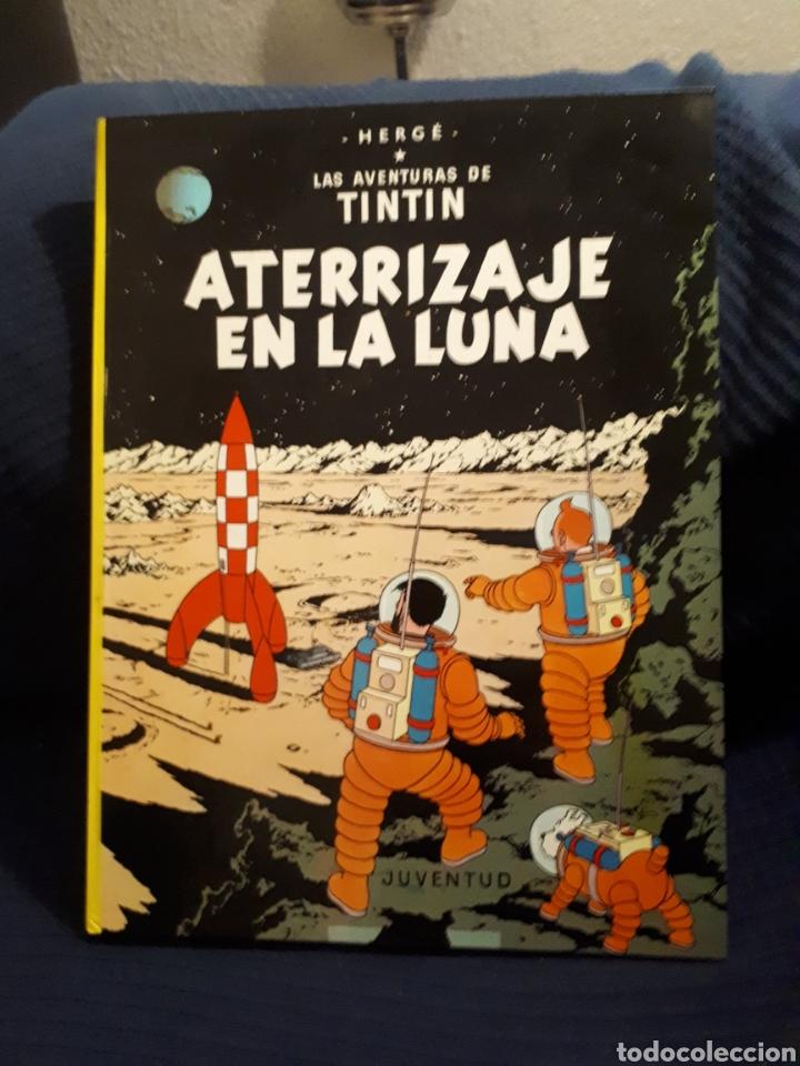 ATERRIZAJE EN LA LUNA TINTÍN HERGÉ JUVENTUD (Tebeos y Comics - Juventud - Tintín)