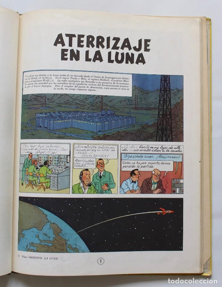 Cómics: TINTIN. ATERRIZAJE EN LA LUNA. JUVENTUD. EDICION, 1965 - Foto 3 - 114360987