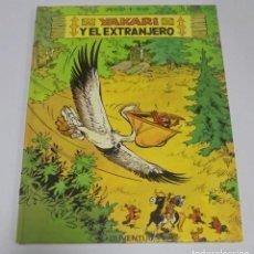 Cómics: YAKARI Y EL EXTRANJERO. Nº 7. DERIB + JOB. EDITORIAL JUVENTUD. 1º EDICION. 1984. PASTA DURA. Lote 114526435