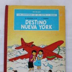 Cómics: LAS AVENTURAS DE JO, ZETTE Y JOCKO : DESTINO NUEVA YORK 1ª EDICIÓN 1970 HERGÉ JUVENTUD. Lote 114539059