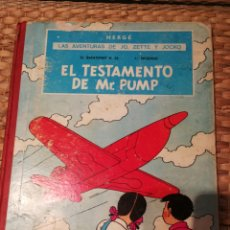 Cómics: LAS AVENTURAS DE JO, ZETTE Y JOCKO. EL TESTAMENTO DE MR PUMP.. Lote 114619500