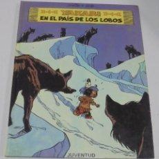 Cómics: TEBEO. YAKARI EN EL PAIS DE LOS LOBOS. DERIB + JOB. EDITORIAL JUVENTUD. 1º EDICION. 1984. Lote 114773615