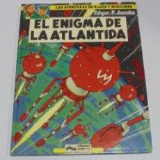 Cómics: LAS AVENTURAS DE BLAKE Y MORTIMER. Nº 4. EL ENIGMA DE LA ATLANTIDA. 1984. EDICIONES JUNIOR. Lote 114774375