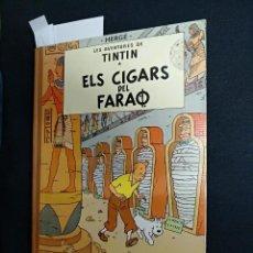 Cómics: LES AVENTURES DE TINTIN - ELS CIGARS DEL FARAO - 2ª - SEGONA EDICIO - 1965 - JUVENTUD - . Lote 114794423