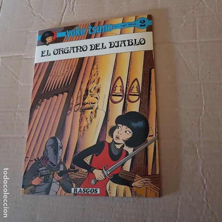 EL ORGANO DEL DIABLO . Nº 2 (Tebeos y Comics - Juventud - Yoko Tsuno)