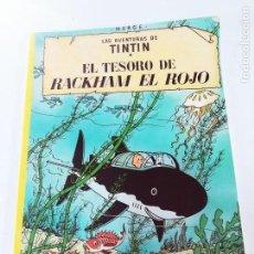 Cómics: EL TESORO DE RACKHAM EL ROJO. LAS AVENTURAS DE TINTIN. ED. JUVENTUD. Lote 115614155