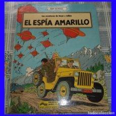 Cómics: LAS AVENTURAS DE OSCAR Y JULIAN N.º 3 EL ESPIA AMARILLO BOB DE MOOR ED. JUNIOR 1988 PASTA DURA. Lote 115741931