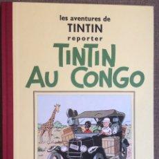 Cómics: TINTIN AU CONGO. REEDICIÓN CASTERMAN AÑO 1995. Lote 116225704
