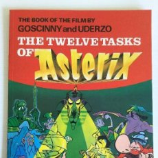Cómics: THE TWELVE TASKS OF ASTERIX GOSCINNY AND UDERZO 1987 HODDER GARGAUD. Lote 116273031
