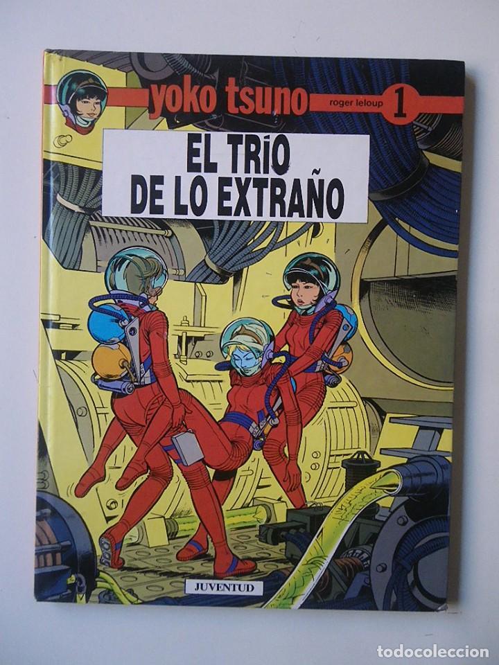 YOKO TSUNO Nº 1 EL TRIO DE LO EXTRAÑO / JUVENTUD 1990 (Tebeos y Comics - Juventud - Yoko Tsuno)