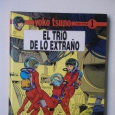 Comics : YOKO TSUNO Nº 1 EL TRIO DE LO EXTRAÑO / JUVENTUD 1990. Lote 116964943