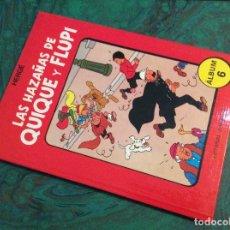Cómics: LAS HAZAÑAS DE QUIQUE Y FLUPI (JUVENTUD - 1987), 1ª EDICIÓN TAPA DURA ... Nº 6. Lote 116981483