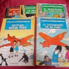 Cómics: LAS AVENTURAS DE JO, ZETTE Y JOCKO. COLECCIÓN COMPLETA. 5 TOMOS. JUVENTUD. 1ª EDICION. Lote 117297927