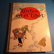 Cómics: TINTIN EN EL TIBET. 2ª EDICION 1965. (H-3). Lote 117436791