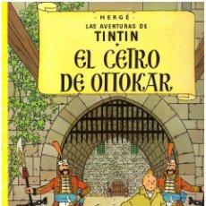 Cómics: COMIC LAS AVENTURAS DE TINTIN: EL CETRO DE OTTOKAR - HERGE; JUVENTUD, TAPA BLANDA. Lote 118114971