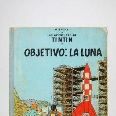 Cómics: CÓMIC TINTÍN DE TAPA DURA - TINTÍN OBJETIVO LA LUNA - EDIT JUVENTUD - AÑO 1965. Lote 118168159