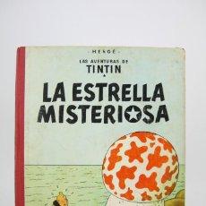 Cómics - Cómic Tintín De Tapa Dura - Tintín La Estrella Misteriosa - Edit Juventud - Año 1964, 2ª Edición - 118169127