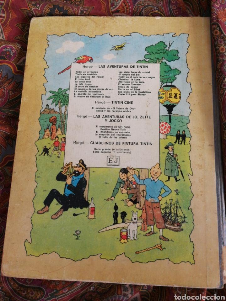 Cómics: TINTIN- EL TESORO DE RACKHAM EL ROJO, HERGÉ- ED.JUVENTUD, 4° EDICIÓN 1971. - Foto 6 - 118352732