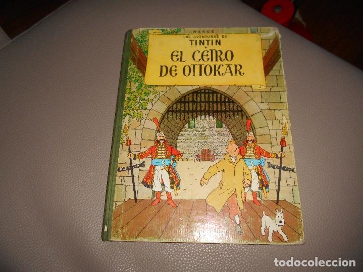 ANTIGUO TINTIN - EL CETRO DE OTTOKAR - HERGÉ - JUVENTUD - 4ª EDICION 1968 (Tebeos y Comics - Juventud - Tintín)