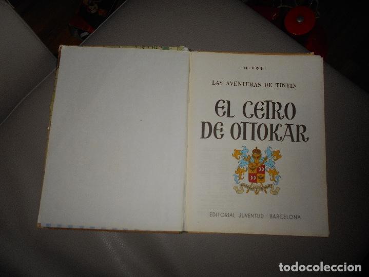 Cómics: ANTIGUO TINTIN - EL CETRO DE OTTOKAR - HERGÉ - JUVENTUD - 4ª EDICION 1968 - Foto 2 - 118398347