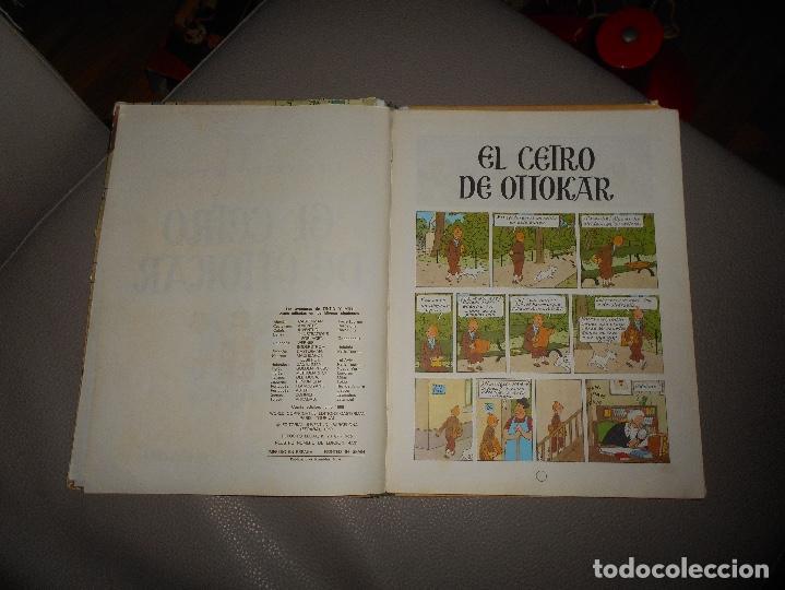 Cómics: ANTIGUO TINTIN - EL CETRO DE OTTOKAR - HERGÉ - JUVENTUD - 4ª EDICION 1968 - Foto 3 - 118398347