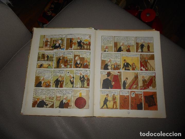 Cómics: ANTIGUO TINTIN - EL CETRO DE OTTOKAR - HERGÉ - JUVENTUD - 4ª EDICION 1968 - Foto 4 - 118398347