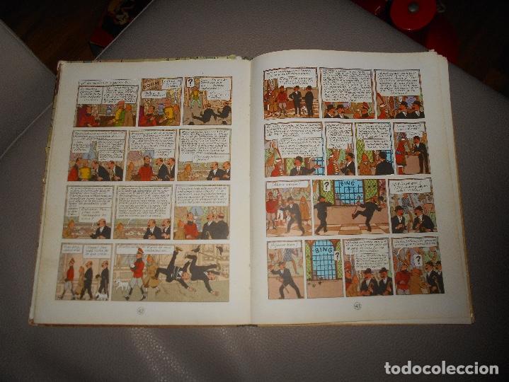 Cómics: ANTIGUO TINTIN - EL CETRO DE OTTOKAR - HERGÉ - JUVENTUD - 4ª EDICION 1968 - Foto 5 - 118398347