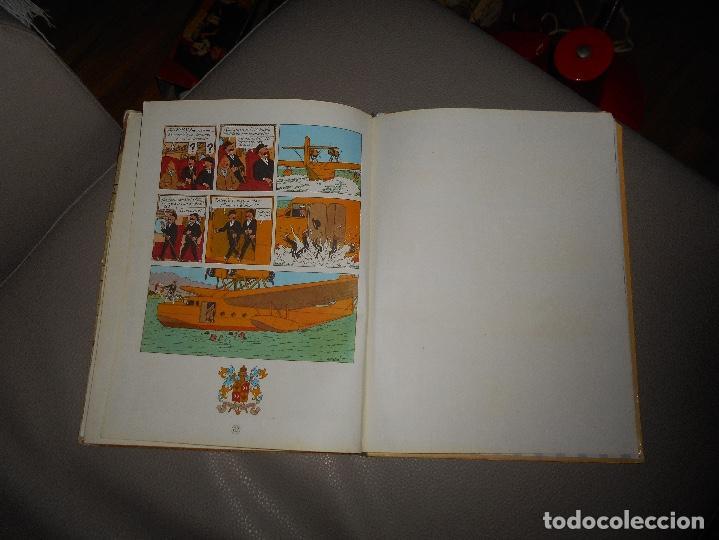 Cómics: ANTIGUO TINTIN - EL CETRO DE OTTOKAR - HERGÉ - JUVENTUD - 4ª EDICION 1968 - Foto 6 - 118398347