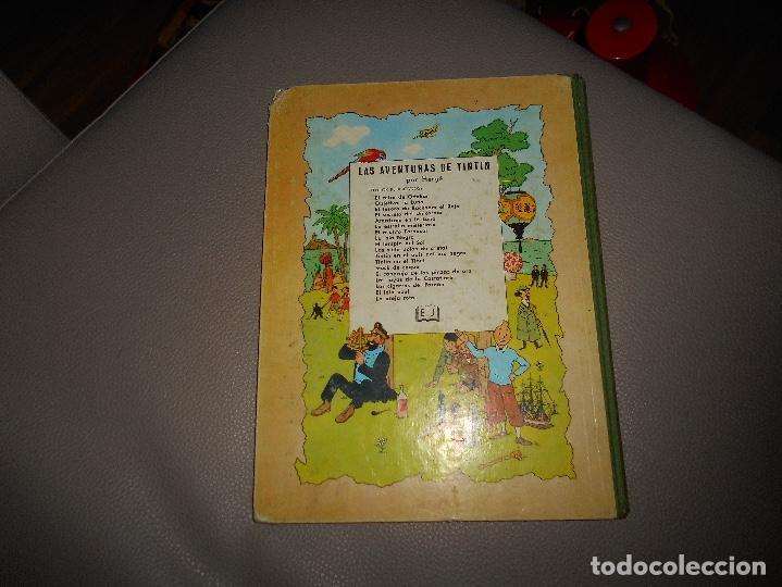 Cómics: ANTIGUO TINTIN - EL CETRO DE OTTOKAR - HERGÉ - JUVENTUD - 4ª EDICION 1968 - Foto 7 - 118398347