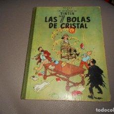 Cómics: TINTIN - LAS 7 BOLAS DE CRISTAL - 2ª EDICIÓN ENERO 1967. Lote 118398647