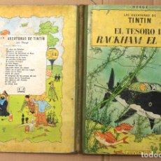 Cómics: LAS AVENTURAS DE TINTIN. EL TESORO DE RACKHAM EL ROJO. 3ª EDICION. AÑO 1965. Lote 118522487