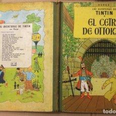 Cómics: LAS AVENTURAS DE TINTIN. EL CETRO DE OTTOKAR. SEGUNDA EDICION. AÑO 1964. Lote 118523222