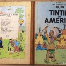 Cómics: LAS AVENTURAS DE TINTIN. TINTIN EN AMERICA. PRIMERA EDICION. AÑO 1968. Lote 118523698
