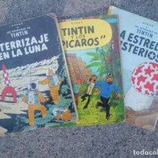 Cómics: TINTIN LOTE DE 3 TOMOS. Lote 118583607