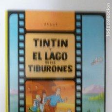 Cómics: ERGE Y GREG - TINTIN Y EL LAGO DE LOS TIBURONES - EDITORIAL JUVENTUD, MARZO 19749 3º EDICIIÓN. Lote 118693815