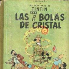 Cómics: LAS AVENTURAS DE TINTIN POR HERGÉ Nº 12 LAS 7 BOLAS DE CRISTAL EDICIÓN AÑO 1964 EDITORIAL JUVENTUD. Lote 118763507