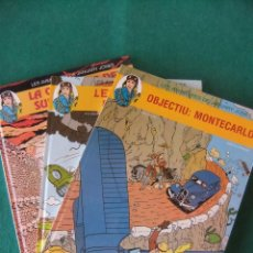 Cómics: LES AVENTURES DE JANUARY JONES 3 TOMOS COMPLETA EDITORIAL JUVENTUD EN CATALAN. Lote 118785159