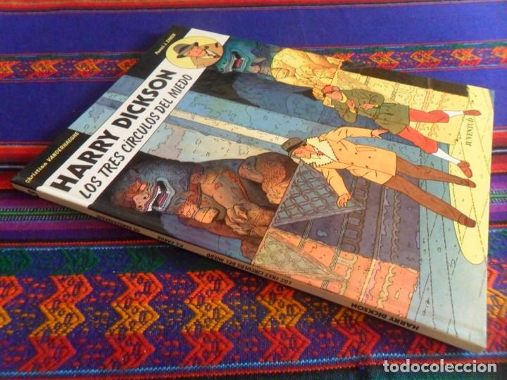 HARRY DICKSON Nº 3 LOS TRES CÍRCULOS DEL MIEDO. JUVENTUD 1991. MUY BUEN ESTADO Y DIFÍCIL. (Tebeos y Comics - Juventud - Otros)