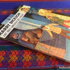 Cómics: HARRY DICKSON Nº 3 LOS TRES CÍRCULOS DEL MIEDO. JUVENTUD 1991. MUY BUEN ESTADO Y DIFÍCIL.. Lote 118925223