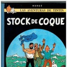 Cómics: TINTIN STOCK DE COQUE -DECIMOCUARTA 14ª EDICIÓN 1990- LOMO TELA. MUY BUENO.. Lote 119305915