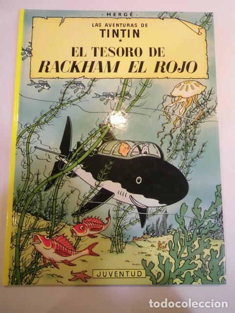 TINTIN - EL TESORO DE RACKHAM EL ROJO - CARTONÉ -2007 (Tebeos y Comics - Juventud - Tintín)