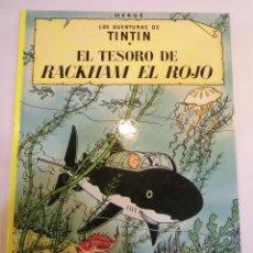 Cómics: TINTIN - EL TESORO DE RACKHAM EL ROJO - CARTONÉ -2007. Lote 119372635