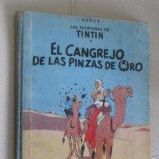 Cómics: TINTIN EL CANGREJO DE LAS PINZAS DE ORO PRIMERA EDICION MARZO 1963 JUVENTUD. Lote 119445087