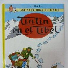 Cómics: TINTÍN EN EL TÍBET. TAPA DURA. Lote 119460931