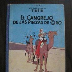Cómics: TINTIN - EL CANGREJO DE LAS PINZAS DE ORO - PRIMERA EDICION MARZO 1963 -VER FOTOS-(V-14.393). Lote 119882819