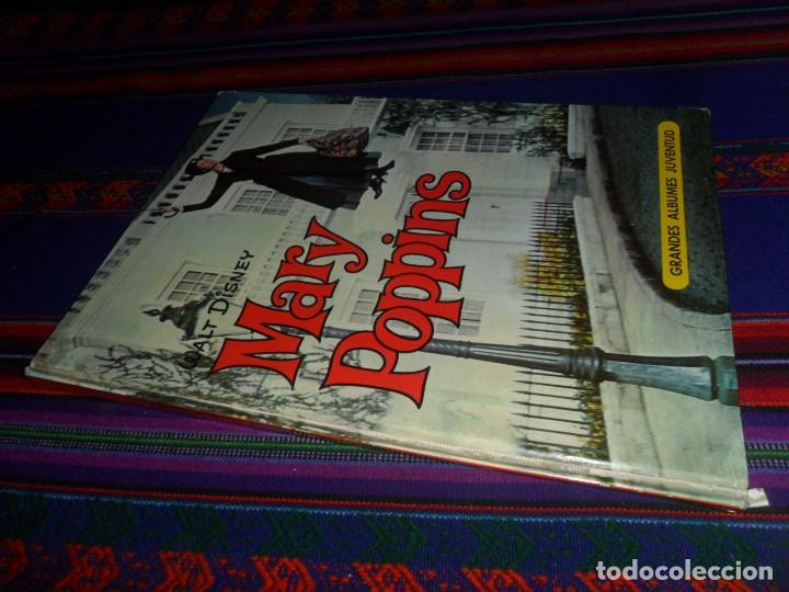 MARY POPPINS EL LIBRO DE LA PELÍCULA. GRANDES ÁLBUMES JUVENTUD 1965. WALT DISNEY. (Tebeos y Comics - Juventud - Otros)