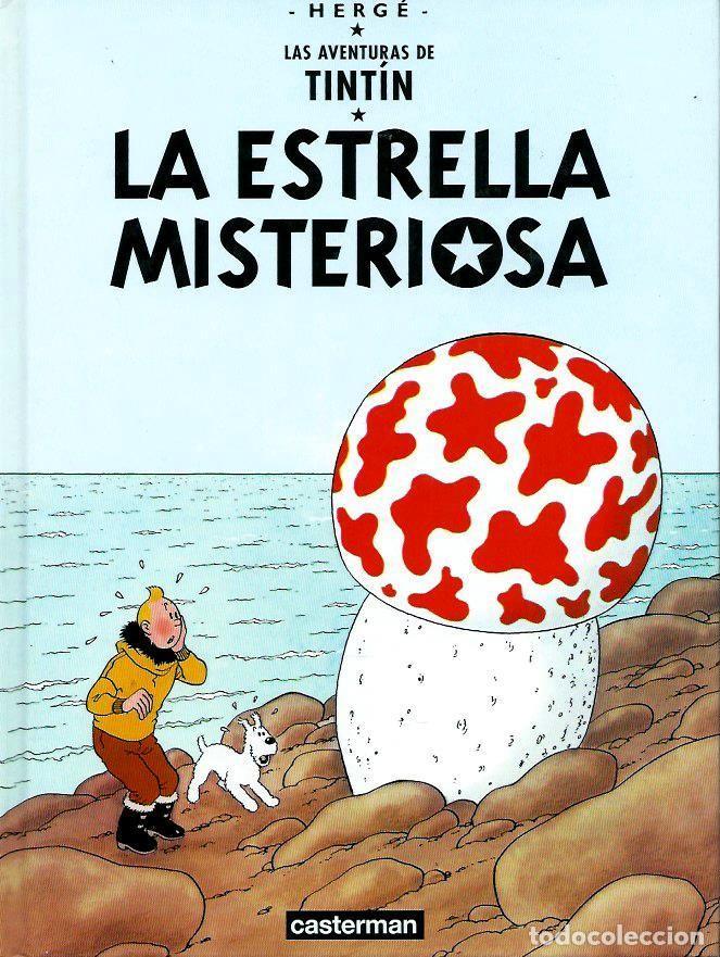 HERGE - TINTIN - LA ESTRELLA MISTERIOSA - PEQUEÑO FORMATO - CASTERMAN 2001 RETIRADO DE LA VENTA RARO (Tebeos y Comics - Juventud - Tintín)