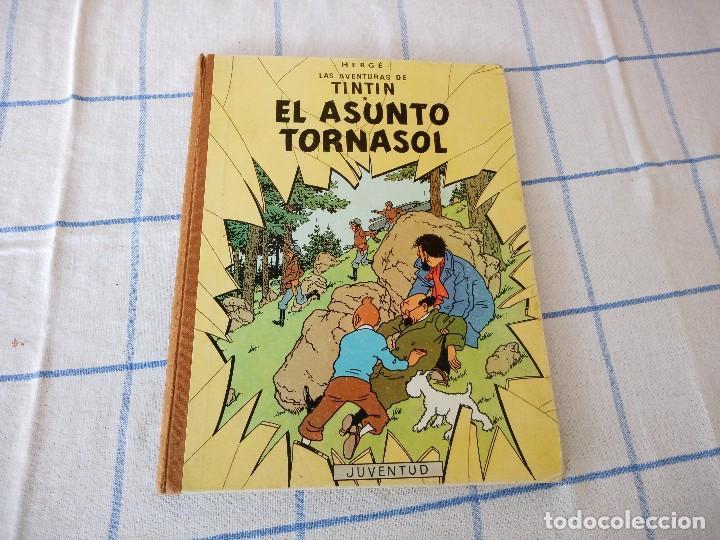 TEBEO DE HERGE LAS AVENTURAS DE TINTIN EL ASUNTO TORNASOL (Tebeos y Comics - Juventud - Tintín)