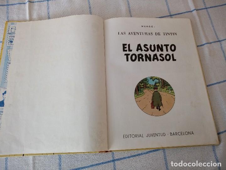Cómics: tebeo de herge las aventuras de tintin el asunto tornasol - Foto 4 - 120706592