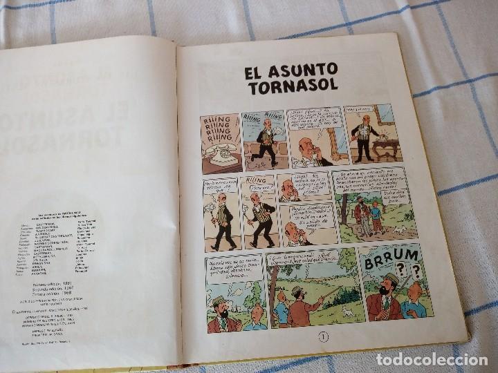 Cómics: tebeo de herge las aventuras de tintin el asunto tornasol - Foto 6 - 120706592